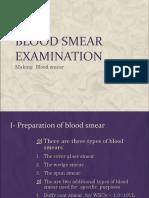 Blood Smear Examination