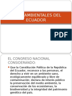Leyes Ambientales Del Ecuador