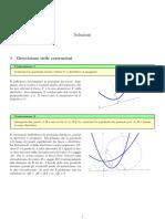 Soluzioni delle costruzioni sulla parabola