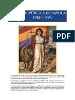 III. II República Española (1931-1936)
