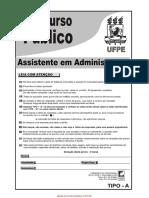 Assistente Em Administracao TIPO A