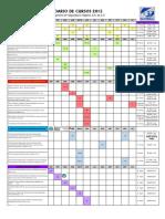 Calendario Cursos 2015
