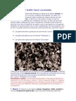 Mineralogia propiedades