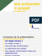 Presenter Un Projet