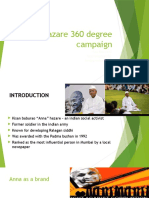 Anna Hazare 360 Degree Campaign