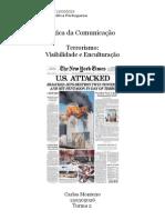 Terrorismo - Visibilidade e Enculturação