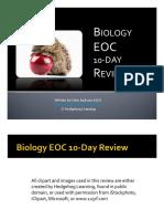 biology eoc slideshow