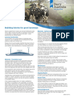 DA Info Sheet for Healthy Hoof Lameness Workshop - Building Blocks for Good Laneways