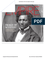 Origins of Frederick Douglass Photo, Dated to 1850, Unknown - Syracuse Post Standard