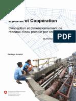 Epanet et Coopération -  Conception et dimensionnement de réseaux d'eau potable par ordinateur.