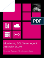 Monitoring SQL Server Agent Jobs With SCOM-2