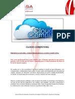 Curso Profesional de Cloud Computing