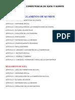 Reglamento de Arbitraje de Karate Oficial 2009[2]