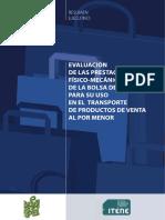 Informe ITENE 2011 Bolsas de Papel