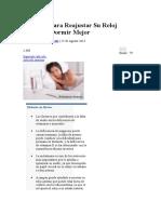Consejos Para Reajustar Su Reloj Interno y Dormir Mejor.docx