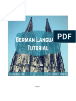 German Tutorial Sample