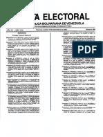 Promoción y Solicitud de Referendos Revocatorios de Mandatos de Cargos de Elección Popular. Resolución Nº 070906-2770, Gaceta Electoral Nº 405, viernes 18 de diciembre de 2007
