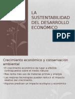 La Sustentabilidad Del Desarrollo Economico