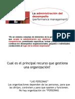 Administración Del Desempeño Por Competencias Pq