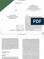 Acuña, Carlos H - La Nueva Matriz Política Argentina - Capítulo 6.pdf