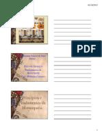 Aula de Homeopatia 01 - Fundamentos e História
