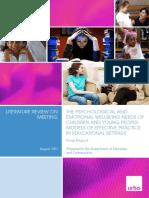 Models of Effective Practice