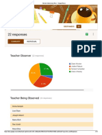 Teacher Observation Form Responses - Google Forms