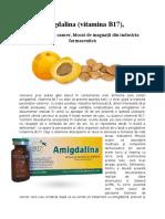 Amigdalina Vitamina B17 - Un Leac Pentru Cancer