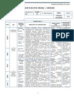 Ed. Fisica Planificacion - 3 Basico