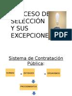 Procesos de Seleccion y Exoneraciones Wina