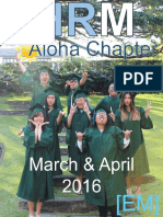 SHRM Aloha E-Magazine - March and April