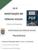 Aula 4 Investigaçao em C.  Sociais - Raymond.pdf