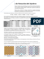 Sistemas de Notación Del Ajedrez