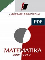 IPA. Matematika. 1999-2010 m. Brandos Egzaminu Uzduotys