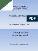 COMUNICACION ORGANIZACIONAL.