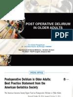 Delirium Post Operasi
