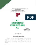 El Entorno Empresarial