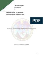 Inv. El Sistema Financiero Guatemalteco