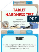 Tablet Hardness Test