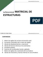 01. Calculo Matricial de Estructuras