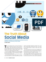 The Truth About Social Media - Business in Calgary Mag - May 2010