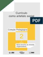 Currículo Como Artefato Social