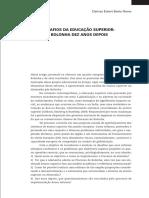 Educação Superior - Processo de Bolonha