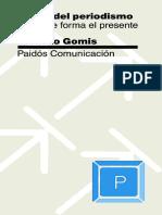 Teoria Del Periodismo Como Se Forma El Presente Lorenzo Gomis (1)