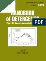 Handbook of Detergents, Part B Environmental Impact (Surfactant Science Series Vol 121)(Marcel Dekker, 2004)