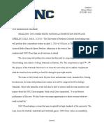 jmc 380 press release  unc cheer