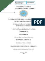Chavez - 2013 - Monografia-Insectos Plagas Del Cultivo Fresa