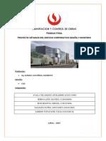 Ejemplo de Trabajo Final del curso de Planificación de Obras