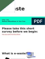 etec 525 - e-waste