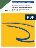Gestionar Los RRHH Enfermeria Multigeneracional